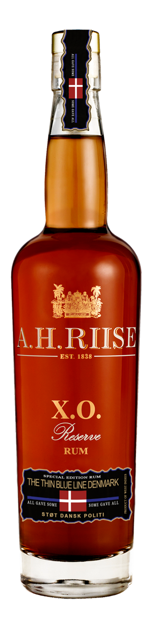 A.H Riise Thin Blue Line. XO 70 cl 40%